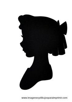 Wendy - Disney printable silhouettes