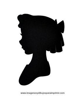 Wendy - Disney printable silhouettes
