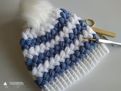 El işi ürünler ve hobi çalışmaları Puff Stitch Crochet, Crochet Cap, Crochet Shoes, Crochet Motif, Crochet Patterns, Knitting Stiches, Crochet Stitches, Crochet Slouchy Hat, Youtube