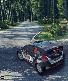 """RENNSPIEL """"WRC 5"""" Mit Schmackes durch den Schlamm!"""