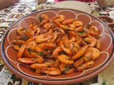 Receitas práticas de culinária: GAMBAS FRITAS