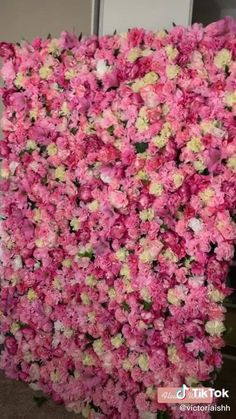 Diy Photo Backdrop, Flower Wall Backdrop, Floral Backdrop, Fake Flowers, Diy Flowers, Artificial Flowers, Video Backdrops, Wall Backdrops, Flower Wall Wedding