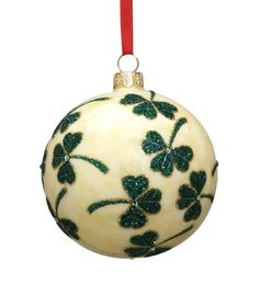Reed & Barton Shamrock Ball European Blown Glass Christmas Ornament Reed & Barton http://www.amazon.com/dp/B0029LI9A6/ref=cm_sw_r_pi_dp_32hPub059TMQM