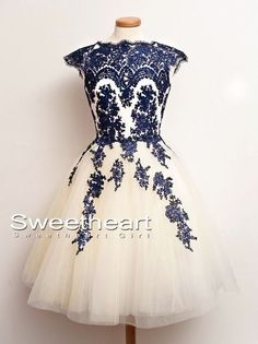 Sweetheart Girl | A-line Lace Short Prom Dresses, Homecoming Dress, Bridesmaid Dress | Online Store Powered by Storenvy