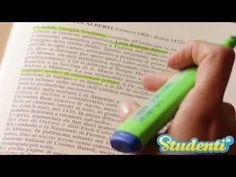 Metodi di studio - Sottolineare un libro: ecco come si fa - YouTube