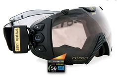 "Recon ""Transcend"" goggles: With GPS and a HUD you can protect your eyes in style."