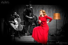 Νατάσσα Μποφίλιου, Θέμης Καραμουρατίδης & Γεράσιμος Ευαγγελάτος @ Βοτανικός Live Stage Live Events, Formal Dresses, Concert, Red, Music, Photos, House, Fashion, Dresses For Formal