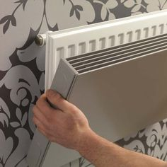 DIY Heizkörperverkleidung - New Ideas Interior Simple, Interior Design, Diy Radiator Cover, Industrial House, Home Accessories, Decoration, How To Memorize Things, Sweet Home, New Homes