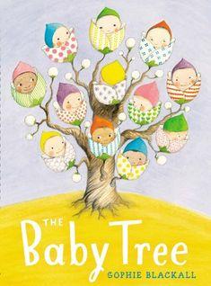 The Baby Tree by Sophie Blackall http://www.amazon.com/dp/0399257187/ref=cm_sw_r_pi_dp_oFvYub18JV7BB