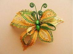 Motýlková by jewart - SAShE.sk - Handmade Odznaky/Brošne