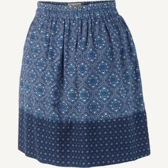 Austell Morocco Geo Mixed Skirt