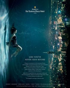 nice Shangri-La Hotel advertising photography by underwater