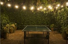 Outdoor table tennis | Community Post: 16 Unique Ideas To Spice Up Your Outdoor Living Space