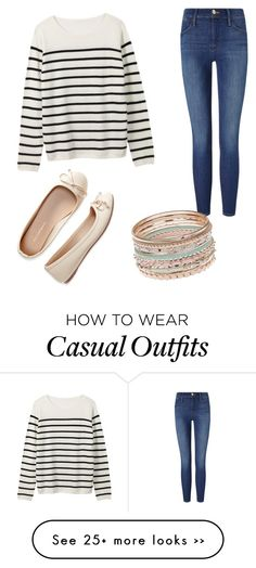 """""""Casual"""" by sweetpeasones on Polyvore featuring Frame Denim and Aéropostale"""