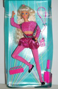 Barbie et teresa  dance moves 1995
