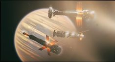 Melkart high orbit refuel by Ergrassa