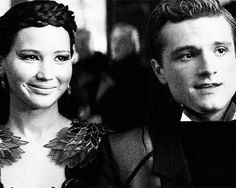 """Peeta and I make no effort to find company but are constantly sought out. We are what no one wants to miss at the party. I act delighted, but I have zero interest in these Capitol people"""