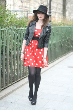 blog mode robe rouge perfecto