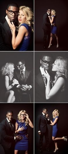 In-studio engagement photo cool!!!