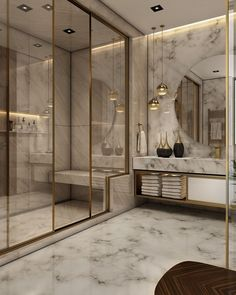33 Admirable Luxury Bathroom Design Ideas - Have you long dreamed of having a luxurious bathroom that would be the envy of all who saw it? If so, there are a few key features you might want to c. Bad Inspiration, Bathroom Inspiration, Garden Inspiration, Dream Bathrooms, Amazing Bathrooms, Master Bathrooms, Luxury Bathrooms, Small Bathrooms, Bathroom Design Luxury