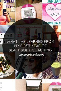 My first year as a Beachbody coach — Anna Maria Locke