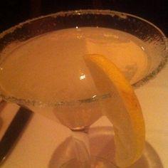 Topolo Margarita: Sauza Conmemorativo tequila, Torres orange liqueur, housemade limonada, shaken tableside.