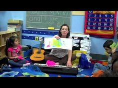 """{SONG & VIDEO} Book 'n Song to """"Color Dance"""" for music therapy with kids!"""