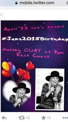 From Official JMO Family on Twitter. Trend #Jens2015Birthday. We love JMO!