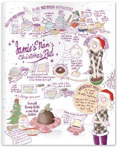 Jamie Magazine ı issue #7 ı Christmas Special, Jamie's Nan's Christmas Pudding Recipe