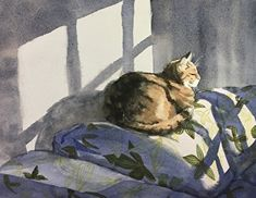 Image result for annie haines cat painting