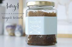 DIY Vanilla and Cinnamon Sugar Scrub