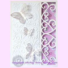 Shirley's Cards: Filigree Border Card Freebie