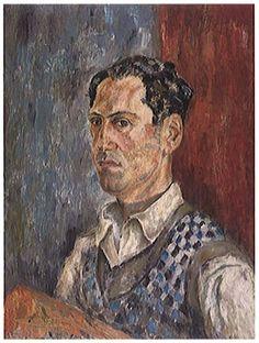 Self portrait. George Gershwin