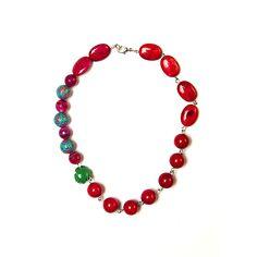 Halsketting met rode parels | Veritas