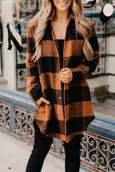 Plaid Coat, Plaid Jacket, Sweater Jacket, Long Sleeve Sweater, Fall Cardigan, Plaid Outfits, Sweater Outfits, Shirt Outfit, Women Fall Outfits