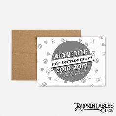 New Pioneer Service Year Card (2016-17)