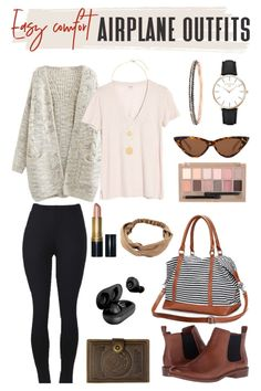 The perfect formula for an easy to wear comfortable airplane outfit is a classic combo of fitted tee plus leggings. Pair with a cute yet cozy layer such as a long cardigan and shoes that are easy to remove to go through security. Check out some of the best airplane travel outfits for each of these looks, along with my own! #TravelFashionGirl #TravelFashion #TravelOutfits #leggingsoutfits #easyoutfits #comfyoutfitsairport Airplane Travel Outfits, Round The World Trip, City Break, Long Cardigan, Simple Outfits, Travel Style, Girl Fashion, Easy, How To Wear