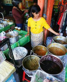 Pasar kranggan, Aneka Bubur tersedia bagi penikmat.