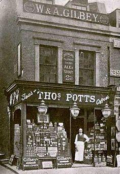 Thomas Potts, Grocers, 395 Brixton Road, Brixton, 1910