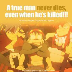 Day The most shocking moment is the death of Kamina from Tengen Toppa Gurren Laggan. Lagann Gurren, School Rumble, Gurren Laggan, Anime Rules, Yoko Littner, Haruhi Suzumiya, Serious Quotes, M Anime, Manga Quotes