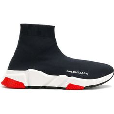 09471b661707 Balenciaga Speed Sneakers ( 750) ❤ liked on Polyvore featuring shoes
