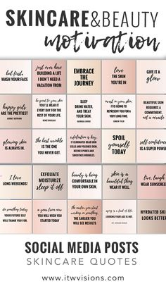 Use these individual quote files to post on your social media feeds. They are great for those who love skincare, beauty and fashion. They are in skin tone colors to fit within your color palette. Enjoy these instant download social media quotes // independent consultant // rodan fields business // lipsense business // younique business // makeup artist // lash artist // skincare quotes // skincare motivational quotes // skincare tips // rodan and fields business card give it a glow //