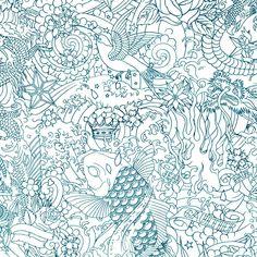 Papier peint Horimono - Jean Paul Gaultier