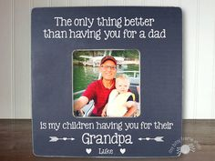 Father's Day Gift Grandpa Gift Gifts for by itsybitsyframeshop