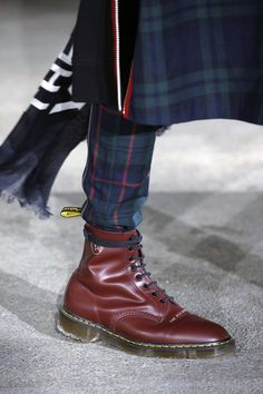 The New Warriors' is our limited edition collection with Japanese label first seen on their… Dr. Martens, New Warriors, Undercover, Combat Boots, Japanese, Label, Collection, Shoes, Instagram