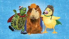 wonder pets! - Google Search Super Why, Wonder Pets, Field Day, Mini Games, Kids Shows, Guinea Pigs, Animal Rescue, Lions, Favorite Tv Shows