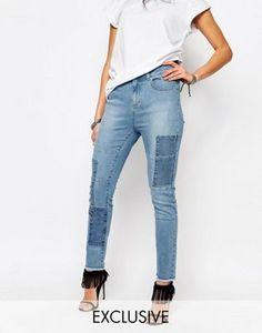 Northmore Denim | Northmore Patchwork Skinny Ankle Grazer Jeans