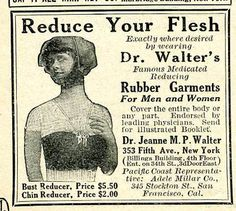 Vintage Ads - Quackery from the Pages of Silent Era Movie Magazines