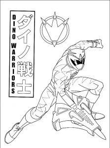 Imagens para pintar dos Power Rangers - 48