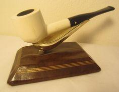 Dr. Grabow White Color Duke Straight Pot Style Estate Briar Tobacco Smoking Pipe